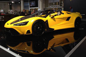 Tushek TS 600 Supercar Makes Dynamic Debut