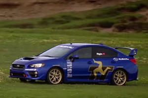 How Does the 2015 Subaru WRX STI Fare at the Isle of Man?