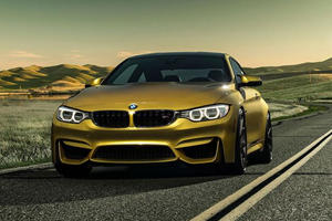 Austin Yellow BMW M4 by Vorsteiner