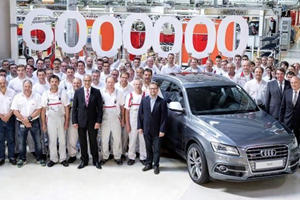 6,000,000th Audi Quattro Produced
