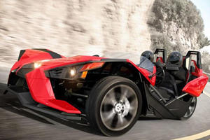 Polaris Slingshot Tricycle Unveiled with 171 HP