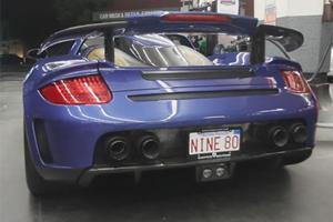 Gemballa Mirage GT Blasts Through Beverly Hills