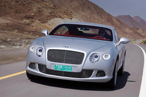 Bentley Continental GT V8 To Debut At 2012 Detroit Auto Show