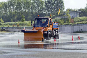 Unimog Safely Passes the ADAC Test