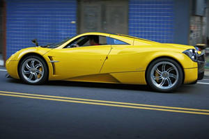 A 15-Year-Old Kids Owns This Yellow Pagani Huayra