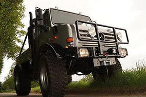 Arnie's Bespoke Unimog On Sale For 208,250 Euros