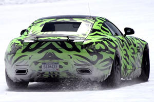 Mercedes AMG-GT Goes All Out at Bonneville