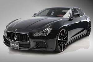 We Can't Wait for Wald's Maserati Ghibli Black Bison Kit