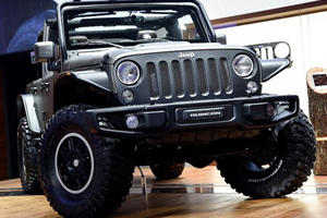 Jeep Special Editions Storm the French Capital