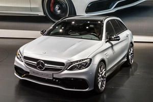 Mercedes Drops the C63 Bomb in Paris