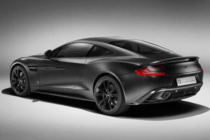 Satin Black Aston Martin Vanquish Unleashed by Q