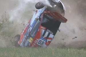 Rally Car Crashes Are (Almost) Always Spectacular