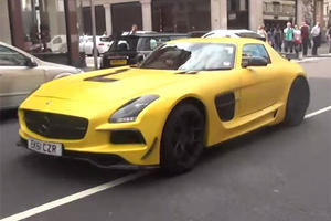 Conversion Kit Turns SLS into Black Series Wannabe