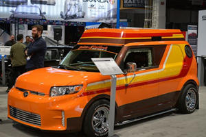 Scion Creates Ultimate 70s Skater Van, Scaled Down and Built for Tony Hawk's Son
