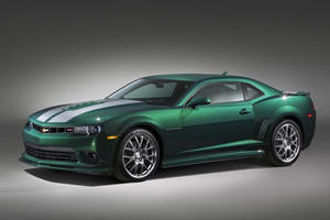 If You Chose 'Green Flash' for Chevy's Latest Camaro Special Edition, Take a Bow