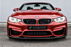 BMW M4 Convertible Restyled and Boosted to 517 HP by Hamann