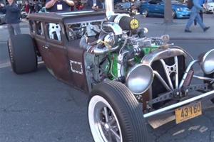 1,000-HP Diesel Rat Rod Will Eat Your Prius for Breakfast