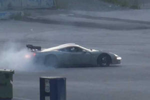 Factory Five's LS7-Powered GTM Kit Supercar Doing Donuts And Spitting Flames