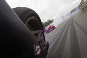 Car Vs. Motorcycle Drift Battle Looks Predictably Awesome When Captured By GoPros