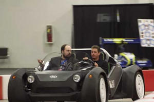 Local Motors Shows Off 3D Printed Car In Detroit, It's Not Pretty, But You Can Download It