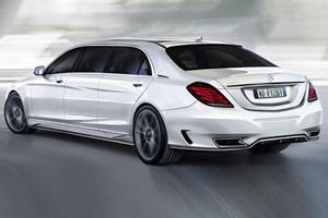 Move Over Maybach: This Is The Mercedes-Benz S-Class XXL By ARES Atelier
