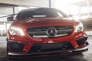 Vivid Racing Reveals Red Hot RevoZport Mercedes-Benz CLA45 AMG