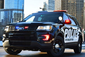 2016 Ford Police Interceptor Will Begin Pulling You Over This Summer