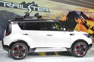 Kia Officially Debuts Trail'ster Concept And Its Hybrid All-Wheel-Drive In Chicago