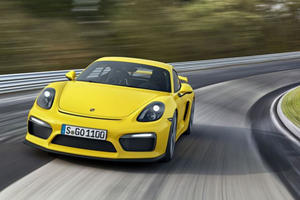 Porsche Likely to Follow Cayman GT4 with an RS Model