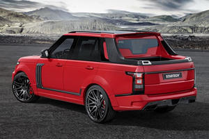 Range Rover Pickup Might Look Like A Joke But Its A Real Thing