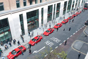 What Links These 8 Stunning Ferraris Lined Up In London?