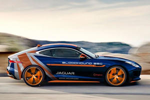 This Is The Jaguar That Will Help The Bloodhound SSC Team Hit 1,000 MPH
