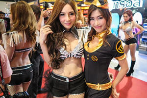 The Most Beautiful Babes Of The 2015 Bangkok Auto Salon