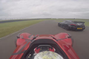 Can The BAC Mono Keep Up With A McLaren P1 On The Track?
