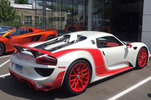Is This The Hottest Color Scheme Ever On A 918 Spyder?