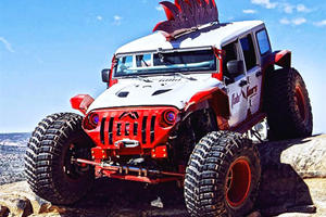 This Heavily Modified Jeep Is So Badass They Gave It A Mohawk