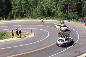 Did Crashing Into A Panamera Save This Cyclist's Life?