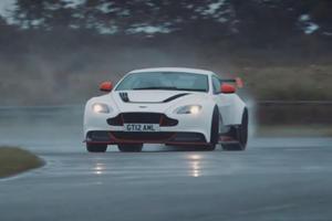 Chris Harris Takes On The Menacing Aston Martin Vantage GT12