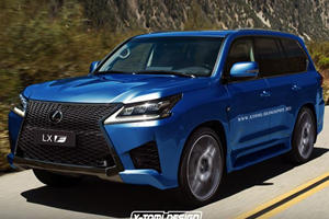 The New Lexus LX Would Be F-ing Hot As The LX F