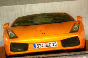 Abandoned Supercars Left To Die In A Paris Parking Lot