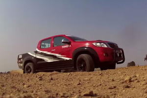 Hottest Pickup In Africa? Toyota SA Gifts Itself A 449 HP Dakar-Spec Hilux