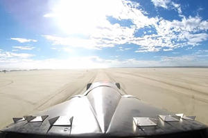 How To Spin Out At 240 MPH In The Middle Of The Desert And Survive