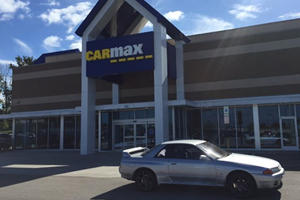 What Happens When You Try And Sell An R32 Skyline To CarMax?