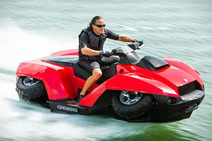 If You've Ever Wanted To Drive An ATV On Water This Is The Solution