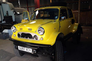 Here's What Happens When A Land Rover Mates With A Mini