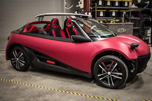 The First 3D-Printed Car Will Soon Invade Dealerships Near You