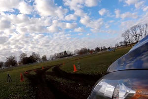 This Mazda Rips Around A Rally Track Like Nobody's Business