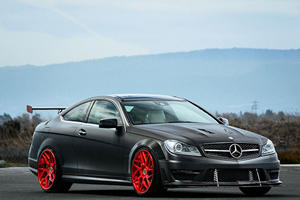 This Has To Be One Of The MEANEST C63 AMGs Ever Built