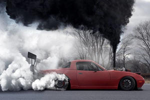 Is A Coal-Rolling Drift Miata The Best Gearhead Charity Project Ever?