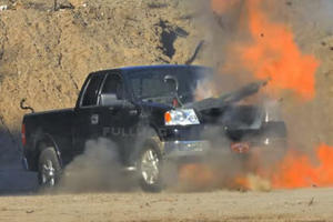 Watch This F-150 Get Utterly Decimated By An Anti-Tank Gun From WWII